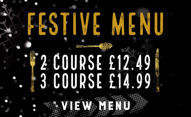 Festive Menu at The Optimist