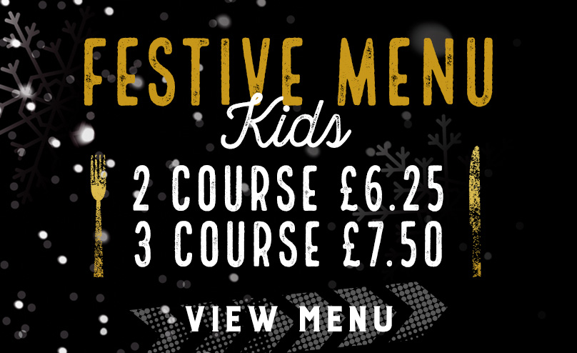 Kids Festive Menu at The Optimist