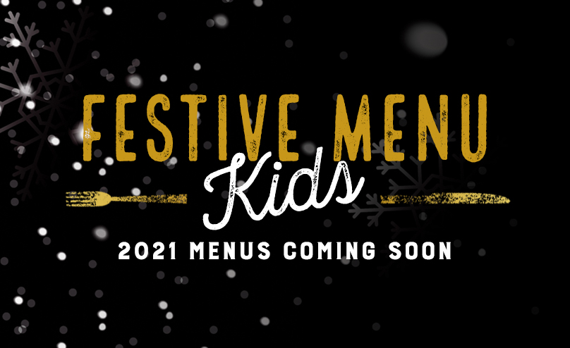 Festive Kids Menu at The Optimist